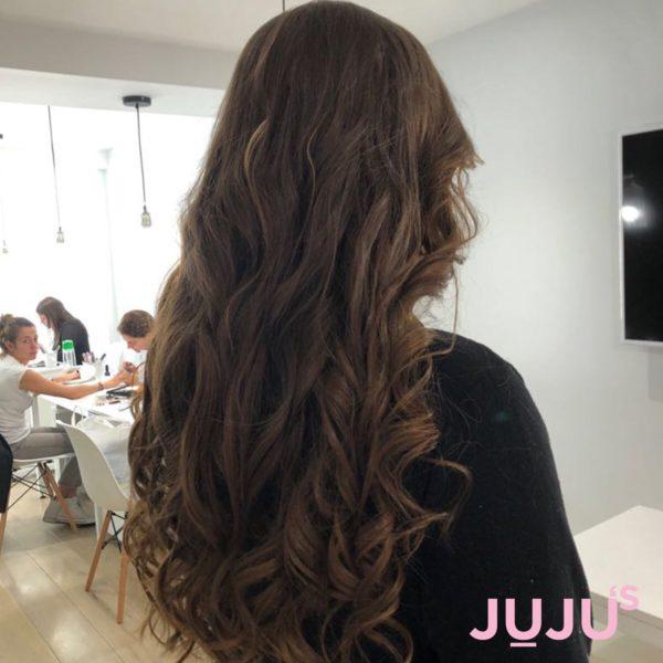 Natural hair extensions Camden